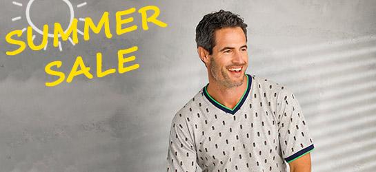 Heren pyjama's en nachthemden