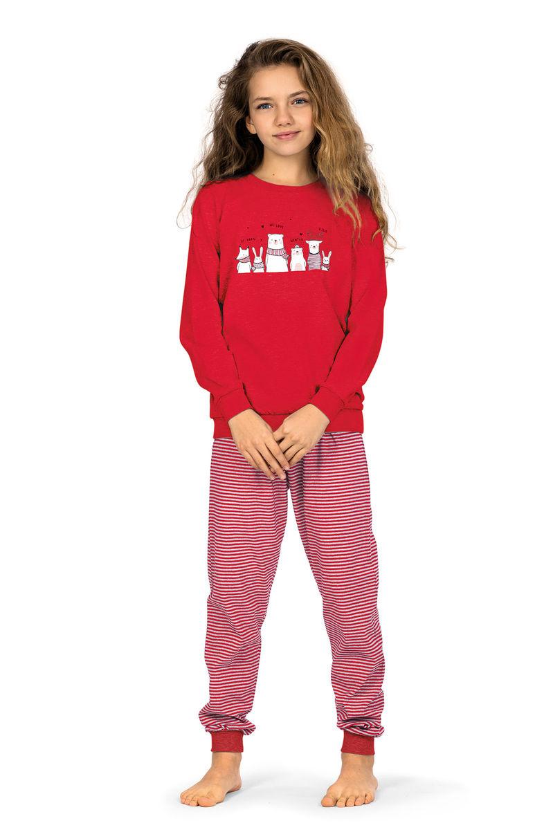 Meisjes pyjama rood