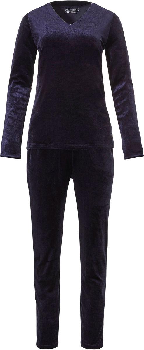 Velours dames pyjama Pastunette