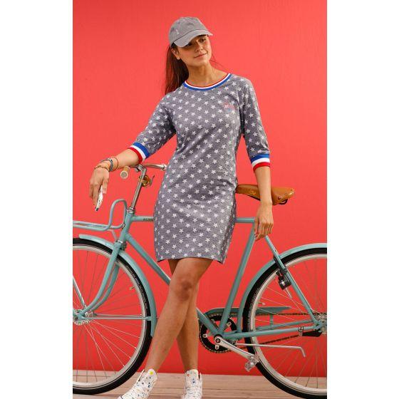 Nachthemd sportief blauw