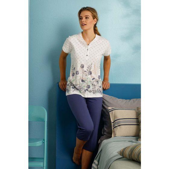 Zomer pyjama dames biologisch katoen