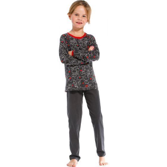 Meisjes pyjama hondjes Rebelle