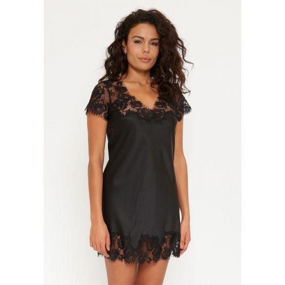 Zwart romantisch nachthemd Lingadore