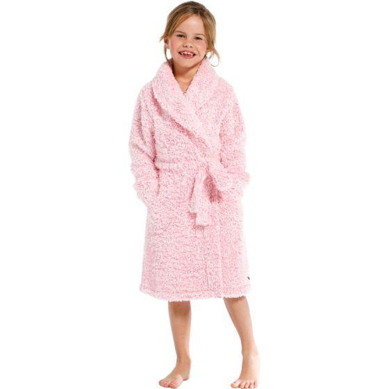 Kinder badjas roze Rebelle