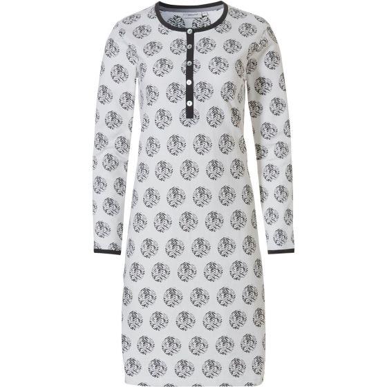 Wit dames nachthemd Pastunette