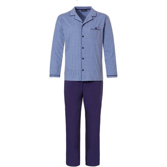Doorknoop pyjama Pastunette