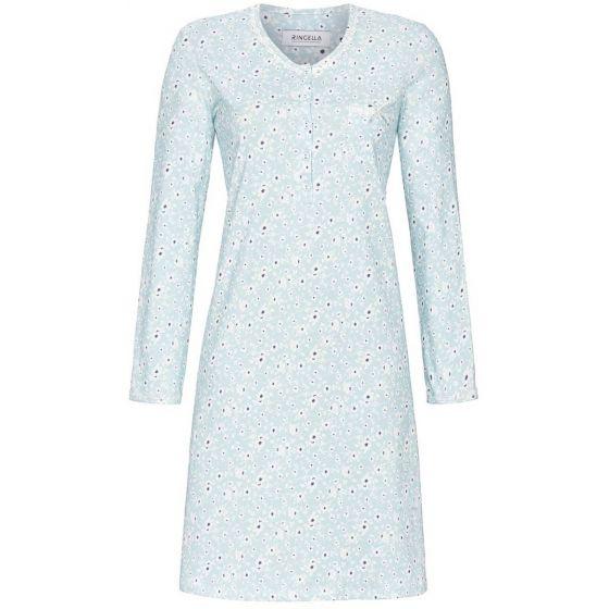 Blue glass dames nachthemd