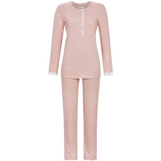 Roze Ringella pyjama stippenmotief