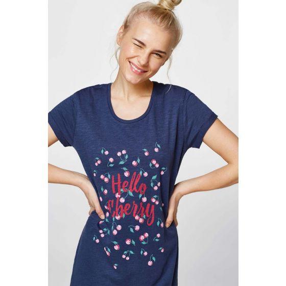 Nachthemd van Esprit cherry