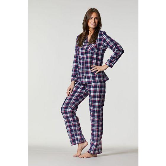 Flanellen dames pyjama Ringella