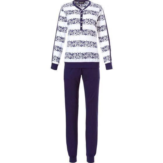 Dames pyjama boorden Patunette