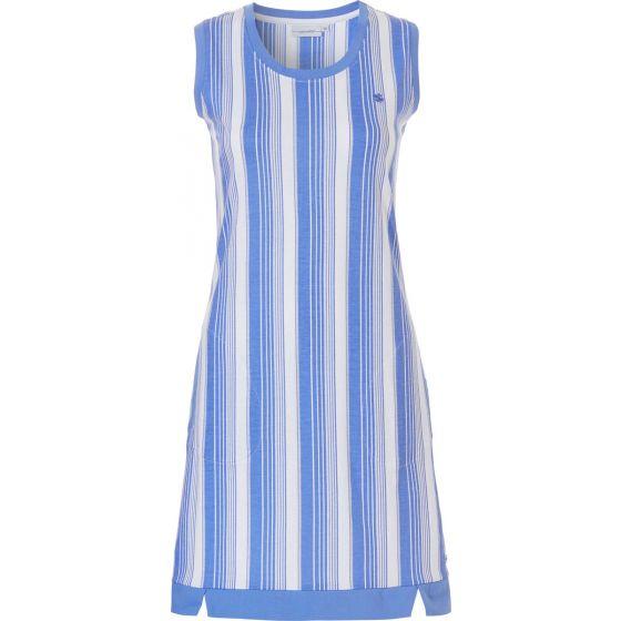 Blauw nachthemd streep Pastunette