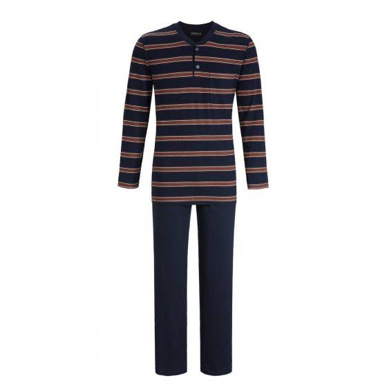 Heren pyjama Ringella strepen