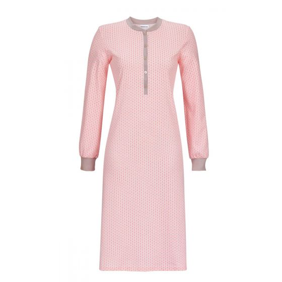 Ringella nachthemd roze patroon