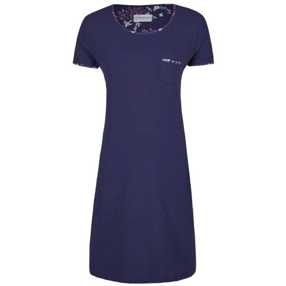 Sportief blauw nachthemd Ringella