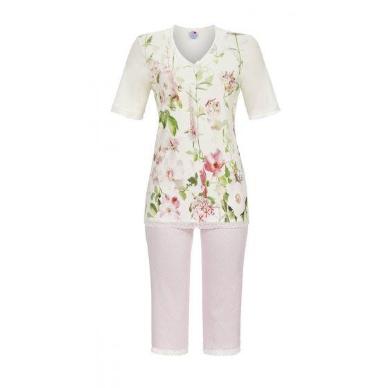 Ringella damespyjama met bloemen