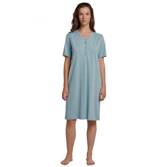 Schiesser dames nachthemd jadegroen