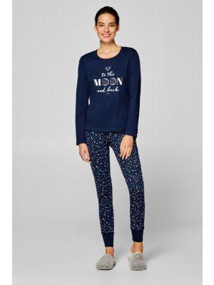 Esprit dames pyjama Moon