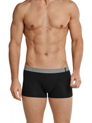 Twee Schiesser shorts zwart
