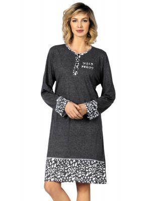 Grijs Comtessa nachthemd