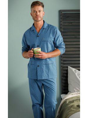 Doorknoop Robson heren pyjama