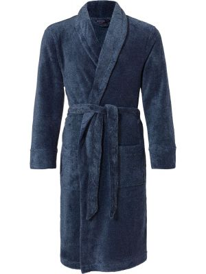 Heren badjas Pastunette cadetblauw