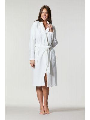 Witte dames badjas Ringella