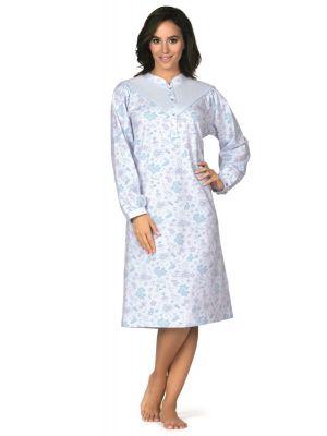 Klassiek blauw nachthemd Comtessa