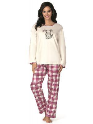 Ecru pyjama hond Comtessa