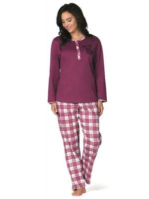 Paarse pyjama hond Comtessa