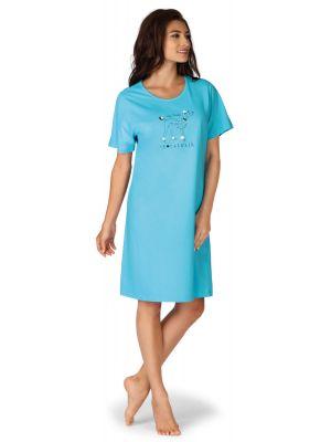 Comtessa dames nachthemd turquoise