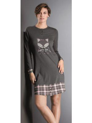 Dames nachthemd vos Hajo