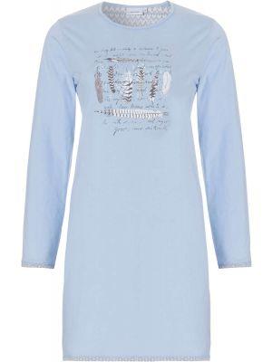 Blauw nachthemd Pastunette