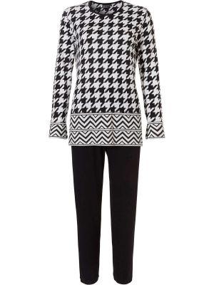 Pyjama zwart wit Pastunette Deluxe