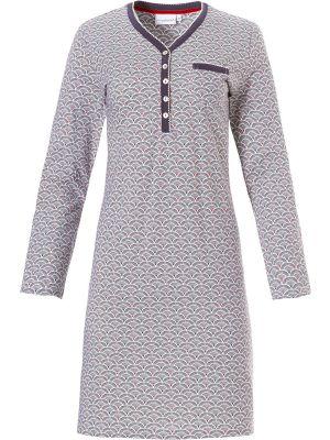 Dames nachthemd knoopjes Pastunette
