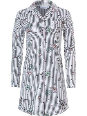 Doorknoop nachthemd bloem Pastunette