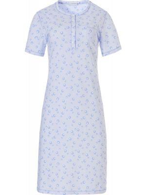 Klassiek nachthemd licht blauw Pastunette