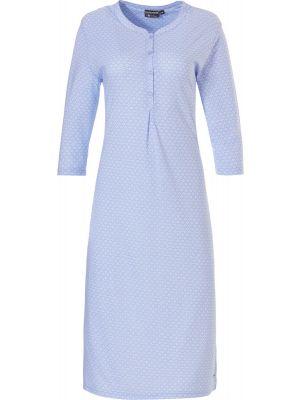 Dames nachtjapon blauw Pastunette Deluxe