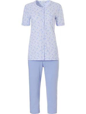 Klassieke doorknoop pyjama Pastunette