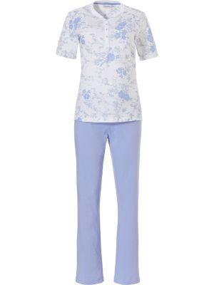 Klassieke pyjama bloemmotief Pastunette