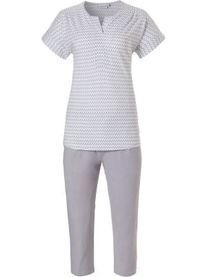Pyjama grijs Pastunette