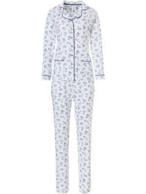 Warme doorknoop pyjama vosjes Rebelle