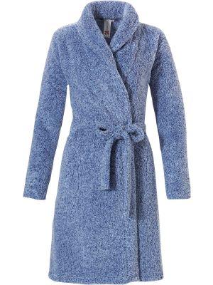 Overslag dames badjas blauw Rebelle