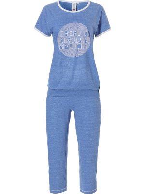 Sportieve blauwe pyjama Rebelle