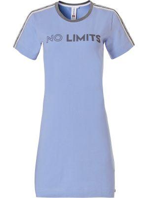 Sportief dames nachthemd blauw