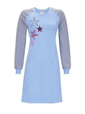 Blauw sterren nachthemd Ringella