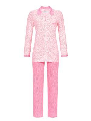 Roze doorknoop pyjama Ringella