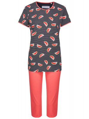 Blauwe Ringella pyjama meloenen