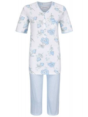 Blauwe rozen pyjama Ringella