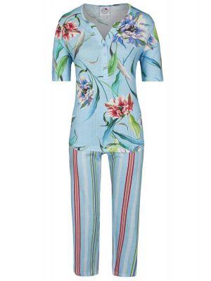 Luxe Ringella pyjama Caribische bloemen